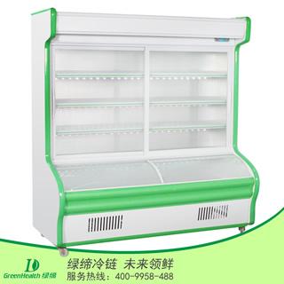 1.4米塑料边点菜柜