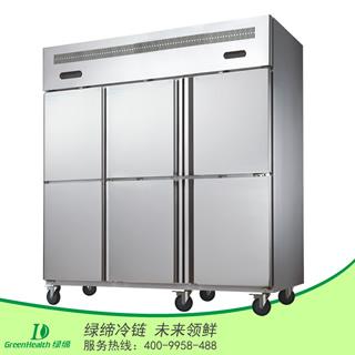 六门双温冷冻冷藏厨房柜