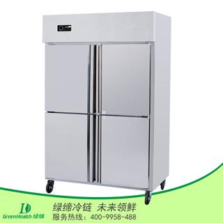 四门单温冷藏厨房柜