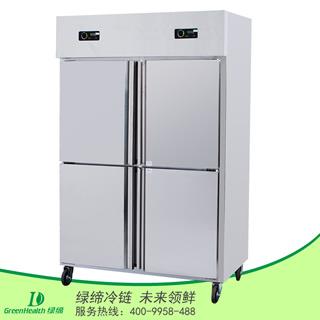 四门双温冷冻冷藏厨房柜