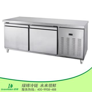两门冷藏厨房工作台冷柜