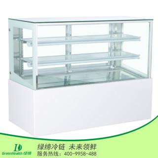 1.5米日式直角蛋糕柜