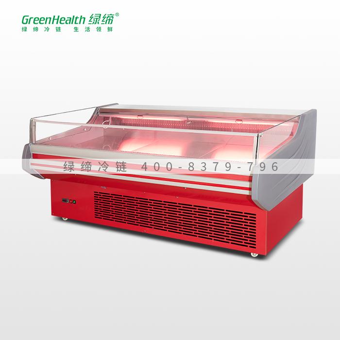 2米红款内机生鲜肉食柜