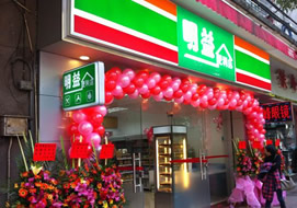 广州明益便利店购置冷柜案例