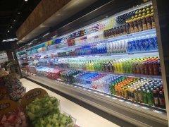 大型商场中超市风幕柜冰柜的空间利用