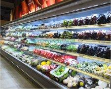 超市冷藏柜风冷无霜质量有保障吗