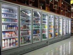 超市冷藏柜的柜体故障检修