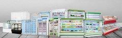 新型超市冰柜的结构及牲能特点