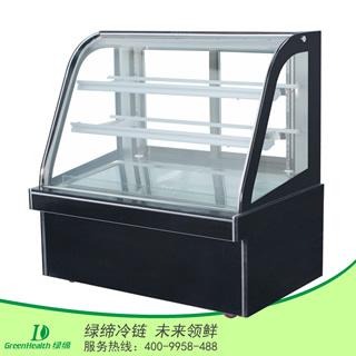 1.2米单弧蛋糕柜在弧形蛋糕柜