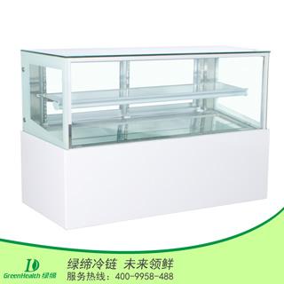1.2米日式两层蛋糕柜在日式直角蛋糕柜
