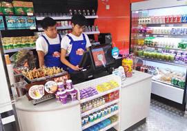 武汉小盒子便利店购置展示冷柜案例